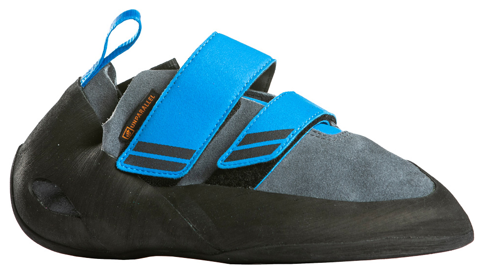 UNPARALLEL  ENGAGE VCS (Mens)   The Engage is a medium-stiff climbing show, constructed of premium U.S. leather and featuring a comfort fit heel cup.