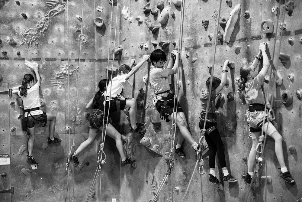 Indoor Rock Climbing For Kids