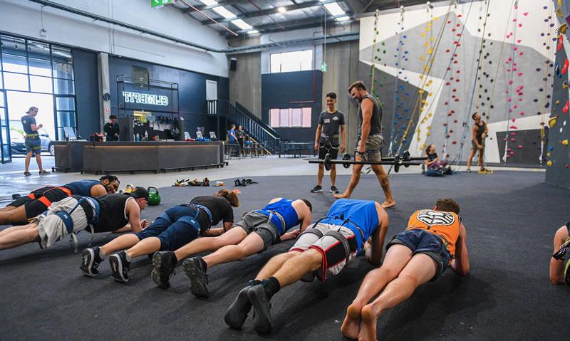 Climbfit HIIT class