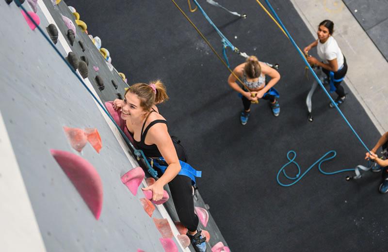 Indoor rock climbing kirrawee